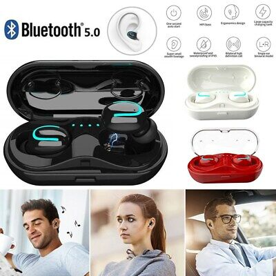 IPX7 Waterproof Touch Mini True Bluetooth 5.0 Earbuds Wireless Headset Headphone - Mini Bluetooth Headset