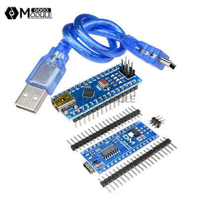 12510pcs Nano V3.0 Atmega328 16m Mini Usb Ch340g Micro-controller F Arduino