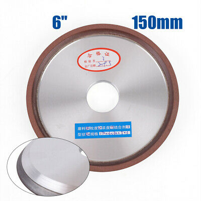 "Hole 1-1//4/"" Type 12R4 Dish Diamond Grinding Wheel 150 Grit 5 inch 125mm"