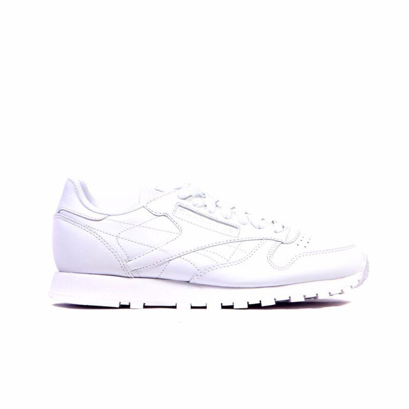 32661bd1128c2 Reebok Classic Leather (US-WHITE WHITE WHITE) Men s Shoes J90117 ...