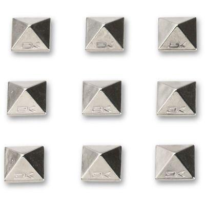 Dakine Pyramid Metal Spikes Snowboard Stomp Pad Chrome Studs Adhesive