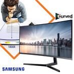 "Samsung Ultra QHD Curved 34"" Monitor"