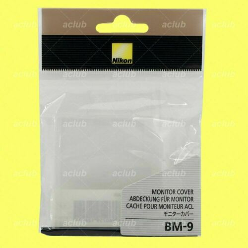 Nikon OEM BM-9 Camera LCD Monitor Cover Screen Protector for D700 NEW GENUINE