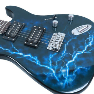 Glarry Electric Guitar GST-E Double Pickup - FAST FREE DELIVERY