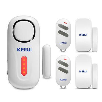 KERUI D2 120dB Door/Window Sensor On Site Home Security Alarm System Loud...