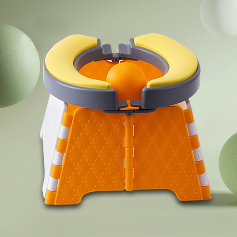 Folding Toddler Toilet Chair Kids Potty Training Stool Outdoor Camping Portable