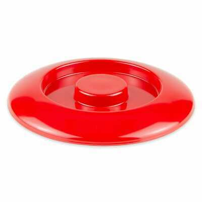 "GET TS-800-L-R 7 3/4"" ROUND TORTILLA SERVER LID ONLY, MELAMINE, RED"