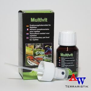 Herpetal-Multivit-Liquid-50ml-Ergaenzungsfuttermittel-fuer-Reptilien-MHD-11-17