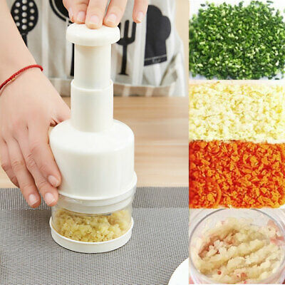 Pressing Vegetable Garlic Onion Food Chopper Cutter Slicer