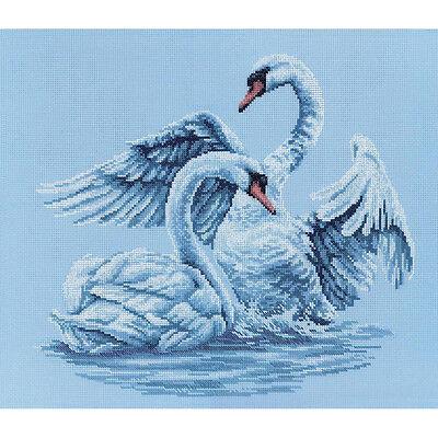 Rto Cross Stitch Kit    Swan Fidelity