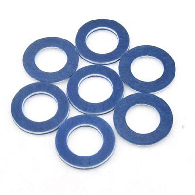 10pcs Car Oil Drain Plug Washer Blue Gaskets (P/N 90430-12031) For Toyota&Lexus