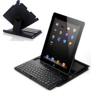 New-Black-360-Degree-Swivel-Stand-Case-Bluetooth-Keyboard-for-iPad-2-3-3rd-Gen
