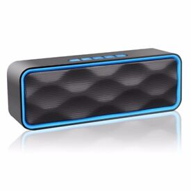 **NEW** WIRELESS BLUETOOTH SPEAKER - HD ENHANCED AUDIO, BUILT IN SPEAKER, BLUETOOTH 4.0