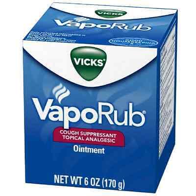 Vicks Vaporub Ointment 6 Oz (pack Of 4)