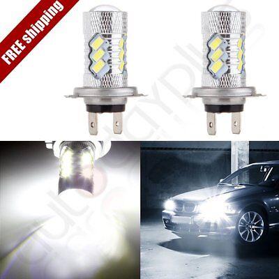 Ultra White H7 6000K  54 SMD HID Bulb Low Beam Cree LED Head Light 60W Lamps comprar usado  Enviando para Brazil