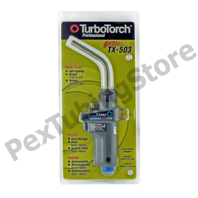 TurboTorch 0386-1297 TX-503 Torch Swirl, MAP-Pro/Propane, Self Lighting