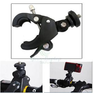 Bike Bicycle Motorcycle Handlebar Tripod Mount Holder For Digital Camera GoPro