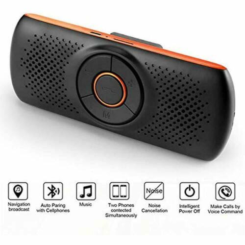 Tianshili Bluetooth Handsfree Car Phone Speaker Hands Free Calls Portable T826