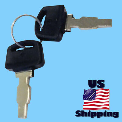 2 Wen Power Ignition Switch Keys For Pro Electric Start Generator P55310 P55340