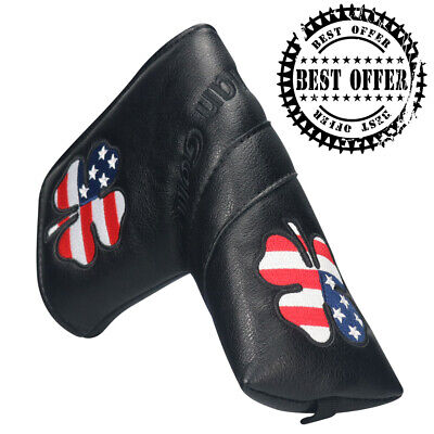 Golf Putter Head Covers Magnetic Blade Covers US For Cameron Odyssey -
