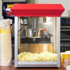 POPCORN MACHINE - - HUGE PROFIT MAKER FOR YOU -FREE STARTER CASE - FREE SHIPPING