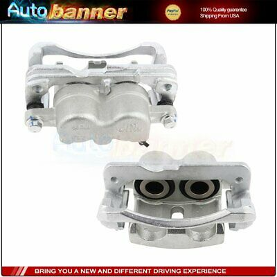Front Brake Calipers L+R For 2001 2002 2003 2004 2005-2010 GMC Sierra 2500 HD Hd Front Left Brake