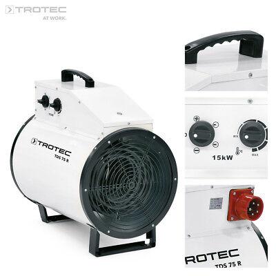TROTEC TDS 75 R Calefactor eléctrico portátil, aerotermo, generador 15kW 400V