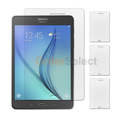 3X Anti-Scratch Clear LCD Screen Shield Protector for Samsung Galaxy Tab A 8.0""