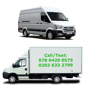 Man and Van from £15/hr , Removal/ Delivery/Luton Van/ Transit Van/ House Move/ Office Move London