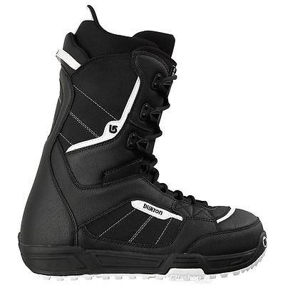 BURTON INVADER black/white men's boots scarponi da snowboard uomo
