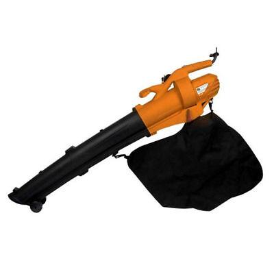 Soffiatore aspiratore per foglie elettrico pulizia giardino prato SOFFIAR9500