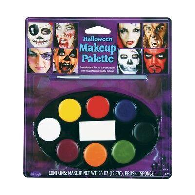 8 Farben Make-Up Gesichtsbemalung Palette Spaß Halloween Gesichtsfarben Set Satz