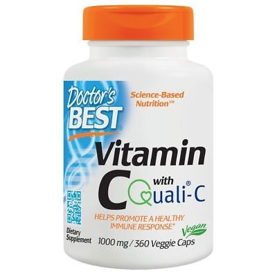 Doctor's Best VITAMIN C with Quali-C (1000mg) - 360 vcaps IMMUNE