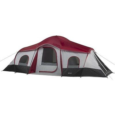 Ozark Trail 10-Person 3-Room Cabin Tent Large 3 Room Easy Setup Outdoor  for sale  USA