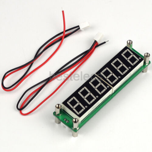 PLJ-6LED-A 6bit LED Frequency Counter 0.1-65MHz Cymometer Tester Module DC 8-15V