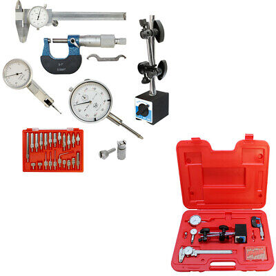 Machinist Inspection Tool Set - Magnetic Basedial Calipermicrometerindicator