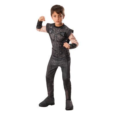 Boys Infinity War Thor Halloween Costume](Teen Thor Costume)