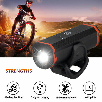 2x LONG LIFE 9 LED BICYCLE LIGHTS Bike Front Head Lamp Safety Flasher Reflectors