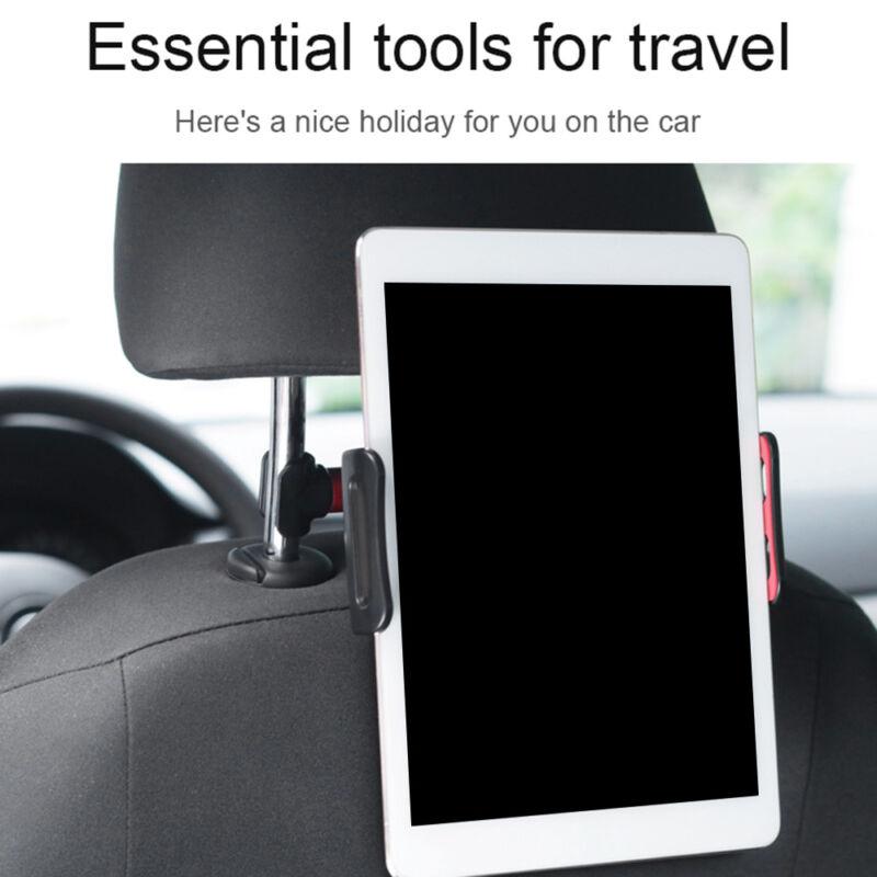"""360°Car Seat Back Mount Holder 4-11"""" Tablet iPad"""
