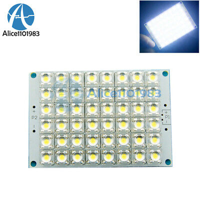 2pcs 12v White Light 48 Led Piranha Led Panel Board Lamp Lighting Super Bright