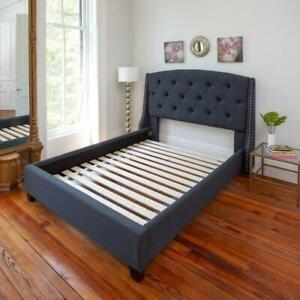 NEW Classic Brands Heavy-Duty Solid Wood Bed Support Slats | Bunkie Board, Queen Condtion: New