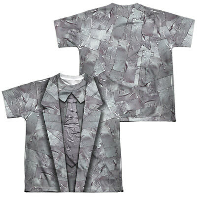 Duct Tape Suit Halloween Costume Kids T-shirt Front & Back (Duct Tape Halloween Costumes)