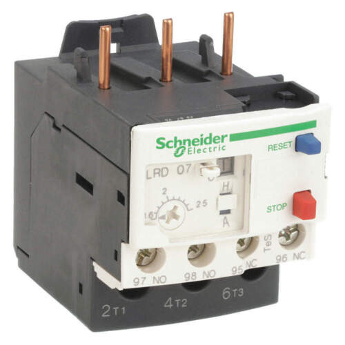 New Schneider Electric LRD07 Overload Relay 1.6-2.5A