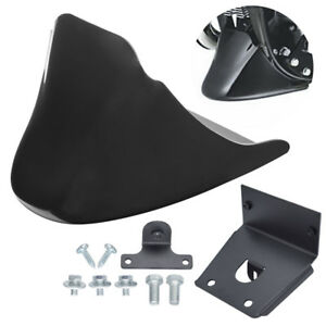 Front Chin Fairing Spoiler For Harley Custom XL1200C XL883C Sportster 1200 883