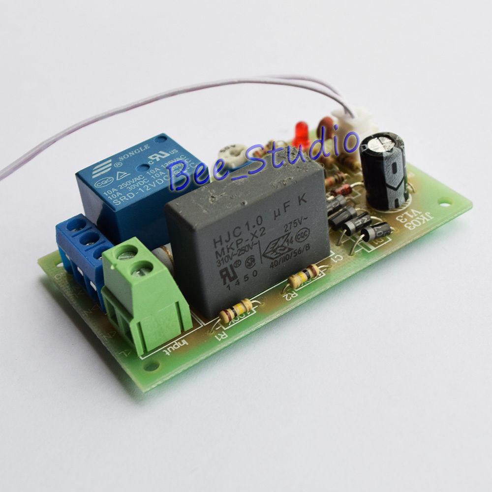 Ac 220v 230v Trigger Delay Time Switch Turn Off Timer