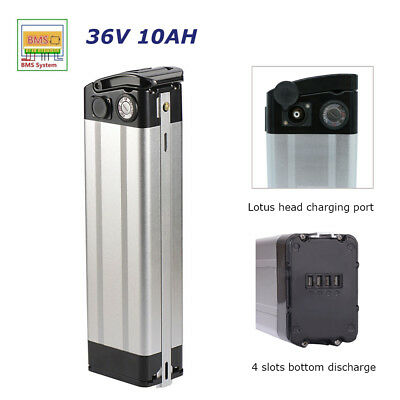 36V 10AH Electric Bicycle Lithium Battery Pack fit 250-350W E-bike Scooter - E-bike Scooter