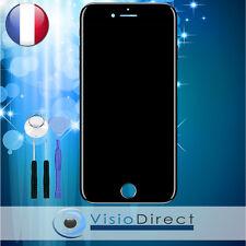Écran complet pour iPhone 7 noir vitre tactile + écran LCD sur châssis + outils