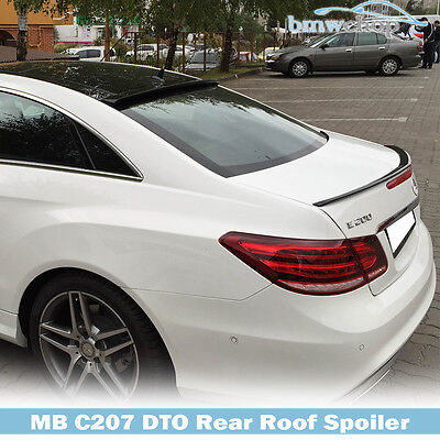 for Mercedes Benz E-class W207/C207 Coupe Rear Window Roof Lip Spoiler Painted