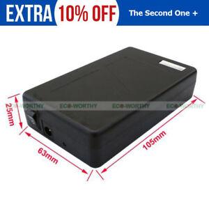 12V DC Portable 6800mAh Li-ion Rechargeable Battery Pack CCTV Compact LED Strip