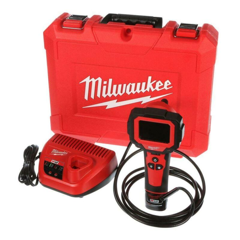 Milwaukee Inspection Camera 12-Volt Lithium-Ion Cordless M-Spector Battery Case